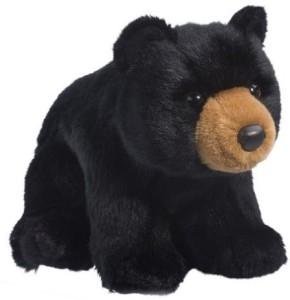 Douglas Cuddle Toys Almond Black Bear