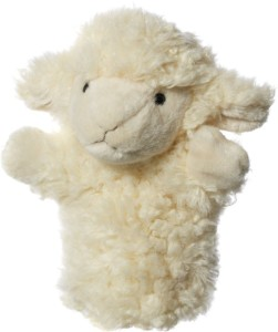 Hamleys Lamb Handpuppet  - 19 cm