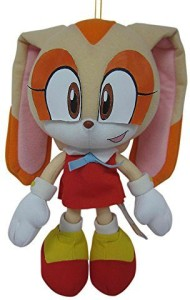 Great Eastern Sonic The Hedgehog Cream The Rabbit 75