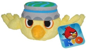 Angry Birds Rio 5Inch Yellow Bird With Sound