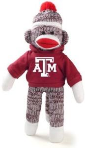 Plushland Texas A&M Sock Monkey Beanie