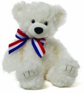 Gund Molly White Bear Plush