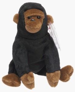Ty Beanie Ba Congo The Gorilla