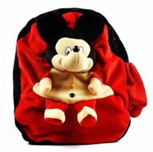 manoj enterprises red&black bag  - 33 cm