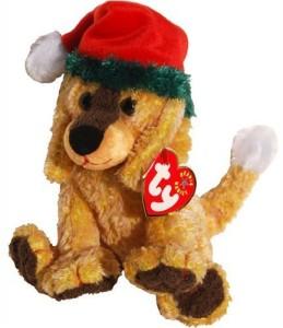 TY Beanie Babies Jinglepup The Dog With Green Brim