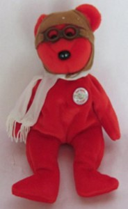 Ty Beanie Babies Bearon The Bear 100 Years Of Flight 8 Inches