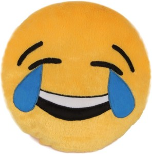 Deals India Deals India Laughing Tears smiley cushion (SmileyH)  - 35 cm
