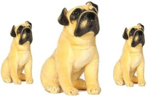 S S Mart COMBO OFFER PUG FAMILY 65 CM AND TWO SON 25 CM SOFT TOY  - 65 cm