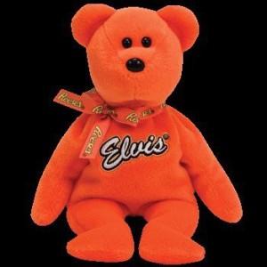 Ty Beanie Ba Coco Presley The Bear (Orange Version Walgreen'S