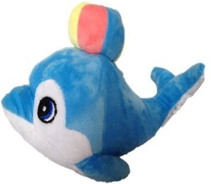 Chinmayi Gift This Small Dolphin Soft Toy  - 20 cm