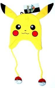 Bioworld Pokemon Pikachu Plush Embroidered Laplander Beanie Style