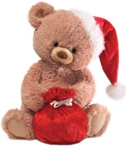 Gund Fun Christmas Tinsel Bear 12
