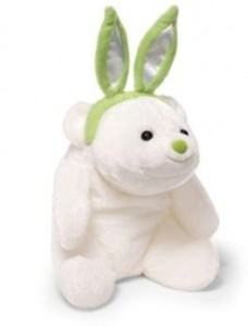 Gund Lil' Easter Snuffles With Lime Green Ears