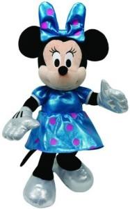 TY Beanie Babies Minnie Teal Sparkle Plush