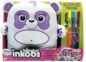 The Bridge Direct Large Blingoo Inkoos Plush Panda Bear With Gemsglitter
