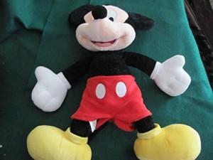 Disney Mickey Mouse 18 Plush Doll