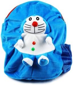 Blue Tree Soft Doraemon School Bag  - 14 inch