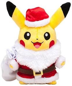 Pokemon Center Pikachu Christmas2014 Plush Doll