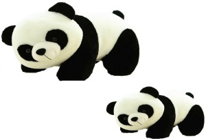 OM MOTHER-CHILD PAID CUTE-LOVABLE PANDA  - 10 inch