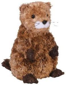 TY Beanie Babies Punxsutawne Phil Groundhog (Store Exclusive)