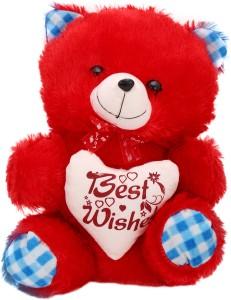 Arihant Online Blue Rounded Teddy Bear  - 13 inch
