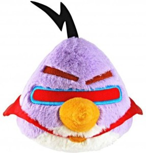 Commonwealth Toys Angry Birds Spaceexclusive 8 Inch Deluxe Plush Lazer Bird