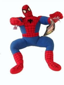 Marvel Spiderman Plush W/ Window Suction Cup
