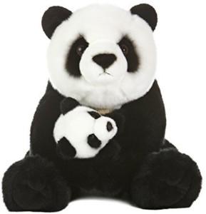 Aurora World Miyoni Panda Bear With Cub Plush15