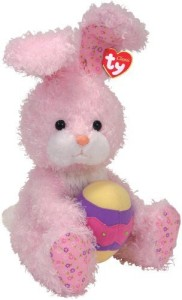 Ty Eggsworth - Pink Rabbit with Egg 80117