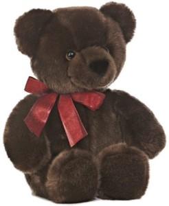 Aurora World Chocolate Cuddle Bear Plush 14