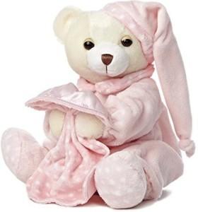 Aurora World Dreamy Ba Girl Bear With Blankie 10