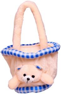 MGPLifestyle MGP Creation Hand Made Peach Tokri Bag - medium  - 10 cm
