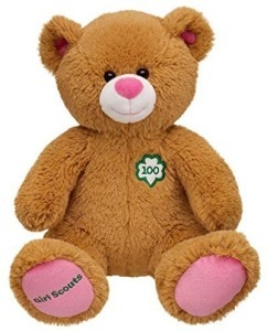 Build A Bear Workshop 100Th Anniversary Girl Scouts 14 Inch Brown Pink