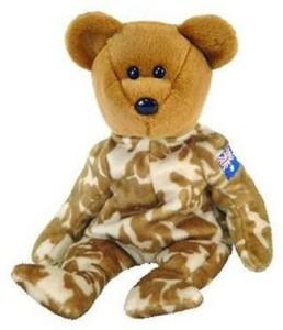Ty Beanie Ba Hero The Military Bear (Australia