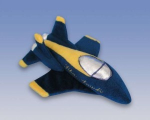 Daron Us Navy Blue Angels Plush Airplane