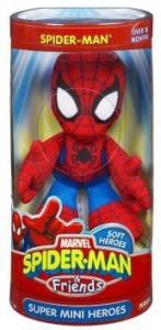 Hasbro Marvel Spiderman & Friends Spiderman Mini Heroes Plush