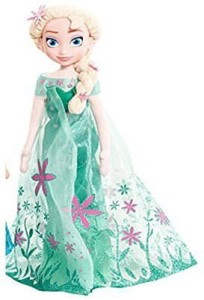 86b0a5a0908 Disney Frozen Elsa Plush Doll 10 inch Multicolor Best Price in India ...