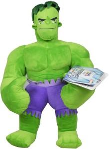 Marvel Hulk Soft Toy  - 5 inch