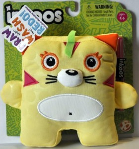 Inkoo S Mini Plush Kitty With Marker Yellow