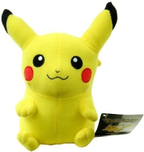 ToyFactory Pokemon 6 Inch Plush Pikachu