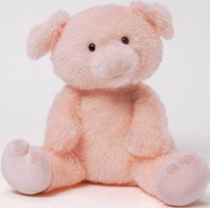 Gund Play With Me This Little Piggy 10 Inch Plush