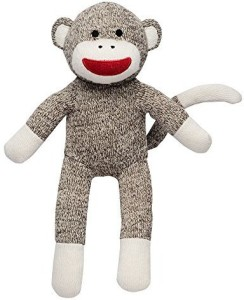 Baby Starters Bastarters Sock Monkey Sweater Knit Plush