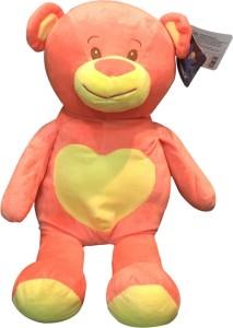 Starwalk Bear Plush Peach & Yellow Colour  - 46 cm