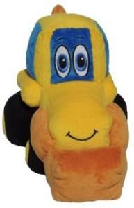 TuffLovies Construction Stuffed Animal, TuffLovies Plush Backhoe  - 20 inch