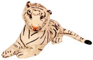 Homeshopeez Cute Soft White Tiger  - 36 cm