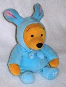 Disney Mini Beanbag Easter Bunny Pooh Bear