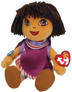 Dora the Explorer Ty Beanie Babies Dora Dora World Adventure Tanzania