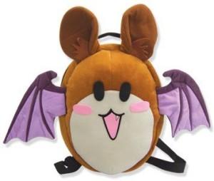 Rosario + Vampire Rosario Vampire Bat Plush Bag