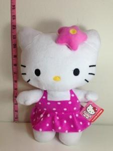 Hello Kitty Plush Doll Toy - Pink Poka Dot  - 25 inch