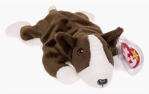 TY Beanie Babies Bruno The Dog Retired